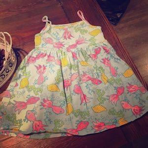 Flap Happy summer dress. Spaghetti strap.